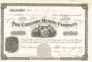 Gregory Mining Company - SOLD