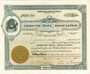 Griscom Hall Association - SOLD