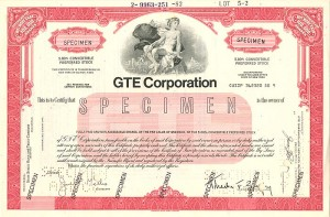 GTE Corporation - SOLD