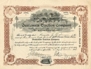 Guatemala Traction Company - SOLD