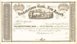 Hackettstown Bank, New Jersey