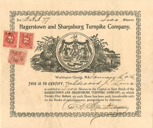 Hagerstown and Sharpsburg Turnpike Company