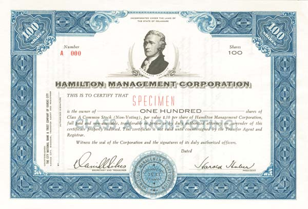 Hamilton Management Corporation