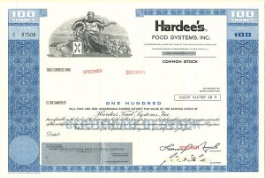 Hardee's Food Systems, Inc