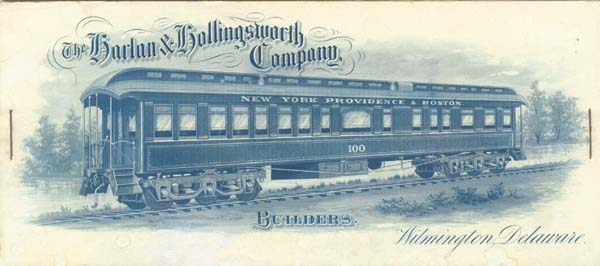Harlan & Hollingsworth Company - SOLD
