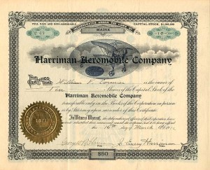 Harriman Aeromobile Company - SOLD