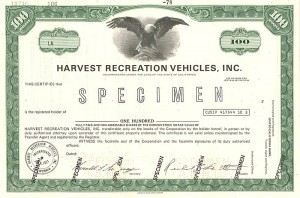 Harvest Recreation Vehicles, Inc.