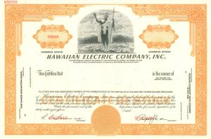 Hawaiian Electric Company, Inc - SOLD