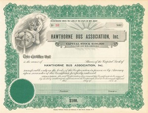 Hawthorne Bus Association, Inc. - SOLD
