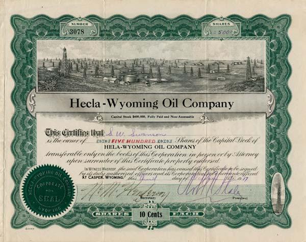 Hecla-Wyoming Oil Company