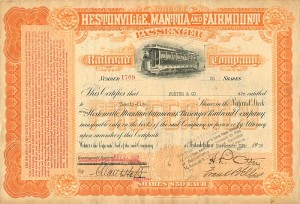 Hestonville, Mantua and Fairmount Passenger Railroad Company