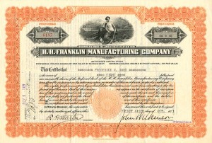 H.H. Franklin Manufacturing Company