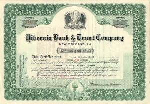 Hibernia Bank & Trust Company - SOLD