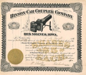 Hinson Car Coupler Company