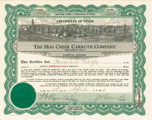 Hog Creek Carruth Company - SOLD