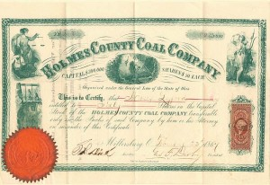 Holmes County Coal Company - SOLD