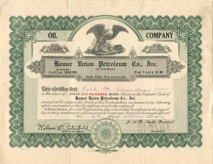 Homer Union Petroleum Co., Inc.