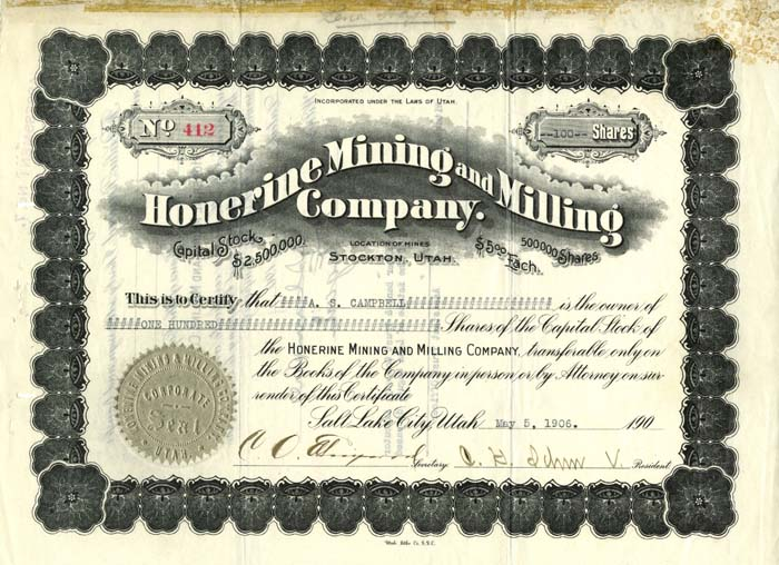 Honerine Mining and Milling Company