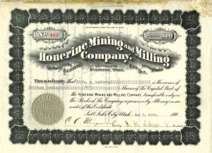Honerine Mining and Milling Company