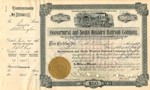 Hooverhurst and South Western Railroad Company