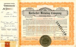 Horlacher Brewing Company - SOLD