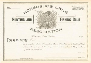 Horseshoe Lake Hunting and Fishing Club Association