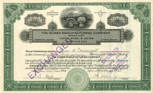 Huber Manufacturing Company