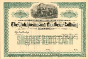 Hutchinson and Southern Railway Company