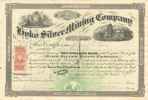 Hyko Silver Mining Company - SOLD
