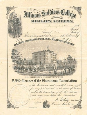 Illinois Soldiers College and Military Academy - SOLD