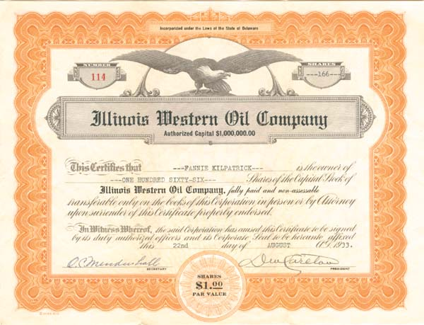 Illinois Western Oil Company
