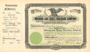 Imboden and Odell Railroad Company