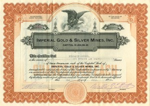 Imperial Gold & Silver Mines, Inc.
