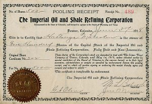 Imperial Oil and Shale Refining Corporation