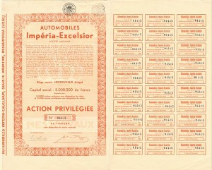 Automobiles Imperia-Excelsior Societe Anonyme
