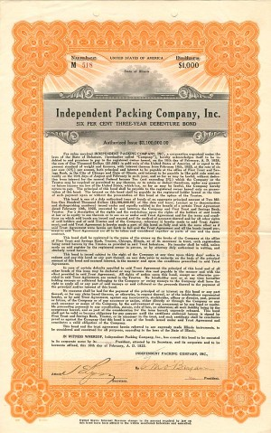 Independent Packing Company, Inc.