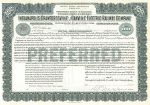 Indianapolis, Crawfordsville and Danville Electric Railway Company