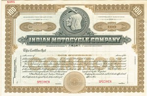 Indian Motorcycle Company - SOLD