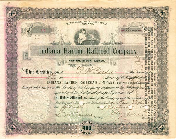 Indiana Harbor Railroad