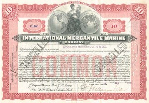International Mercantile Marine Co - SOLD