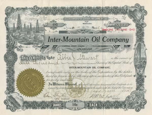 Inter-Mountain Oil Company