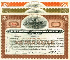 International Mercantile Marine Company Set