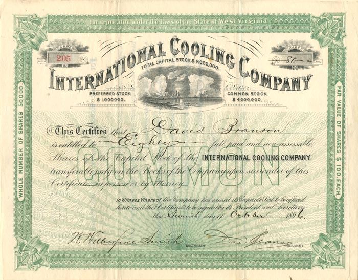 International Cooling Company - SOLD