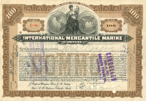 International Mercantile Marine Company - SOLD