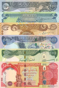 Iraq Set of 6 - P-New