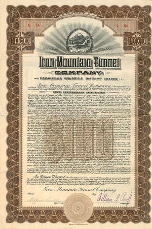 Iron Mountain Tunnel Company - SOLD