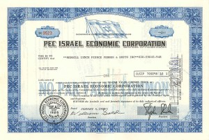 Pec Israel Economic Corporation