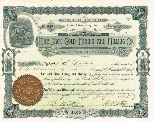 Jack Gold Mining & Milling Company