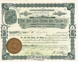 Jack Gold Mining & Milling Company