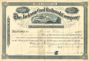 Jackson Coal Railroad Company - SOLD